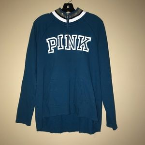 PINK Victoria Secret Sweat Shirt Large L Blue